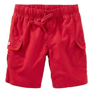 Toddler Boy OshKosh B'gosh® Red Cargo Shorts
