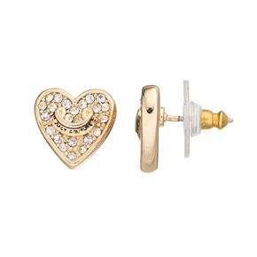Juicy Couture Pave Heart Earrings