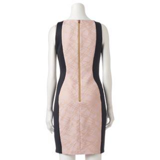 Women's Jax Metallic Colorblock Sheath Dress