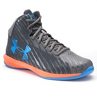 Under Armour Jet Express Mid Grade School Boys' Basketball Shoes