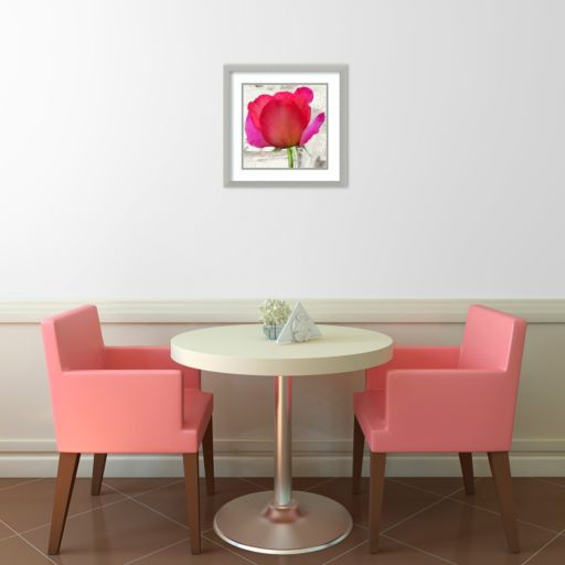 Spring Roses II Framed Wall Art