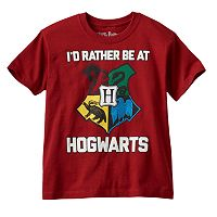 Boys 4-7 Harry Potter Hogwarts Shield Tee