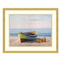 Al Mattino Boat Framed Wall Art