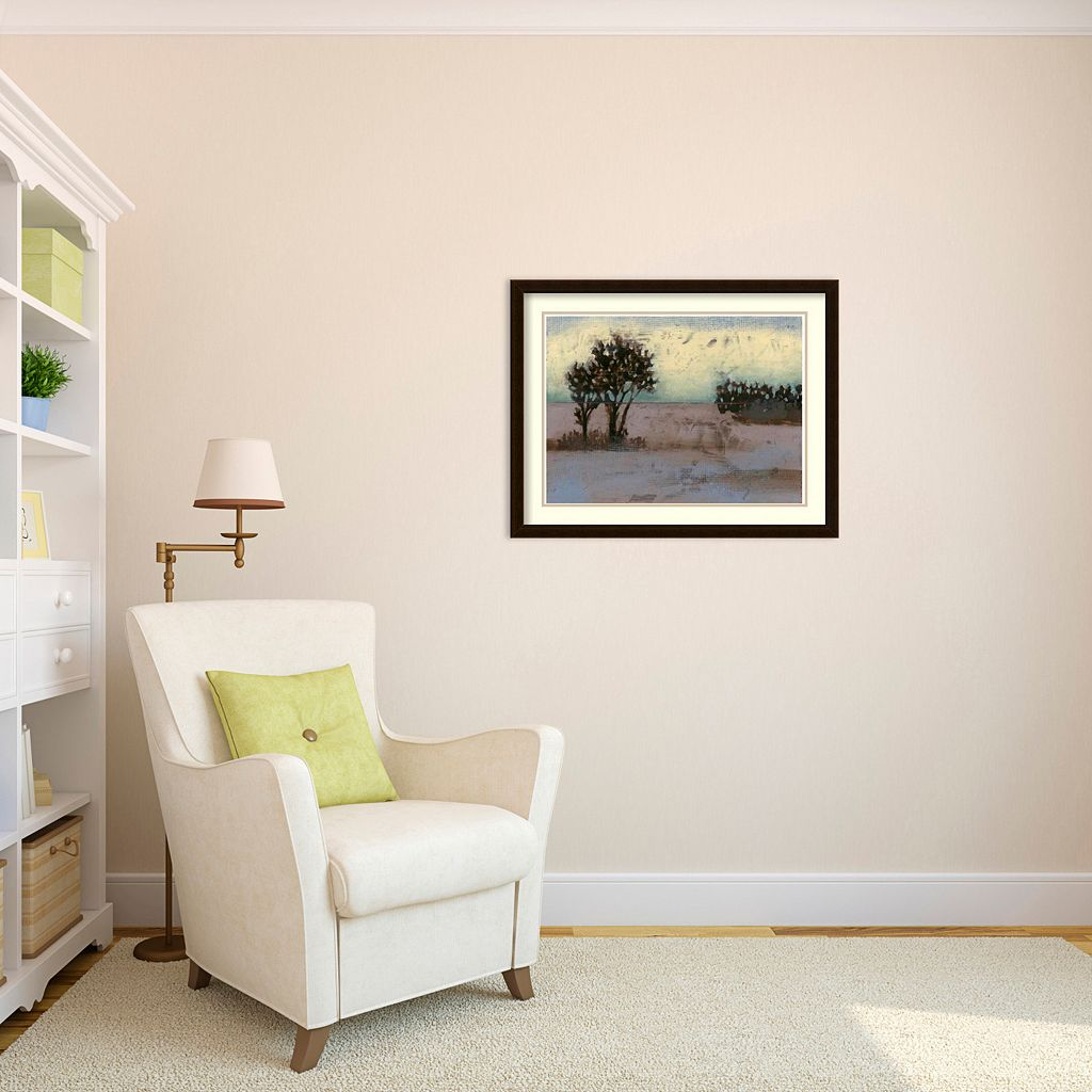 Rustic Meadow I Framed Wall Art