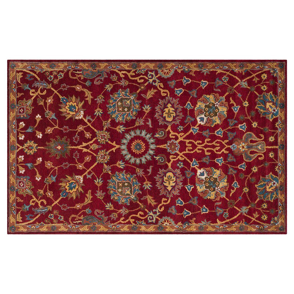 Safavieh Heritage Lisbon Framed Floral Wool Rug