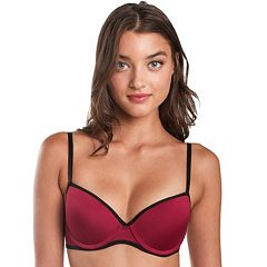 Juniors Candie's® Bra: Microfiber Demi Push-Up Bra