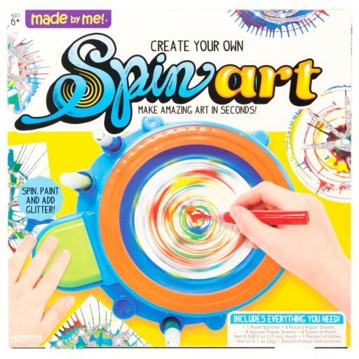 Made by Me Spin Art