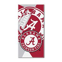 Alabama Crimson Tide Puzzle Oversize Beach Towel by Northwest