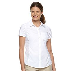 Women's Columbia Amberley Stream Solid Shirt