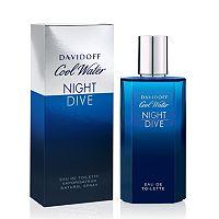 Davidoff Cool Water Night Dive Men's Cologne - Eau de Toilette