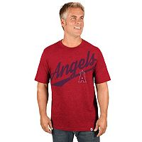 Men's Majestic Los Angeles Angels of Anaheim Roll With The Punches Tee