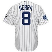 Men's Majestic New York Yankees Yogi Berra Commemorative Jersey