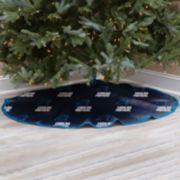 Carolina Panthers Christmas Tree Skirt