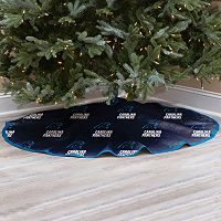 Carolina Panthers Christmas Tree Skirt
