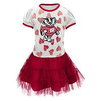 Baby Wisconsin Badgers Tutu Dress