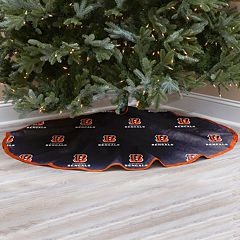 Cincinnati Bengals Christmas Tree Skirt