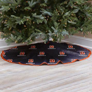 Cincinnati Bengals Christmas Tree Skirt