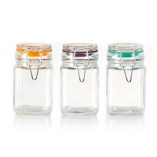 Pfaltzgraff  3-pc. Square Jar Set