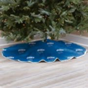 Detroit Lions Christmas Tree Skirt