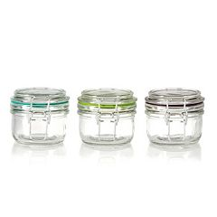 Pfaltzgraff  3-pc. Clamp Jar Set