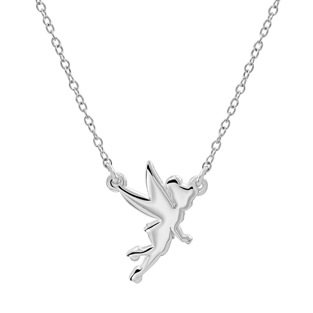 Disney's Tinker Bell Sterling Silver Necklace