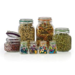 Pfaltzgraff  8-pc. Assorted Clamp Jar Set