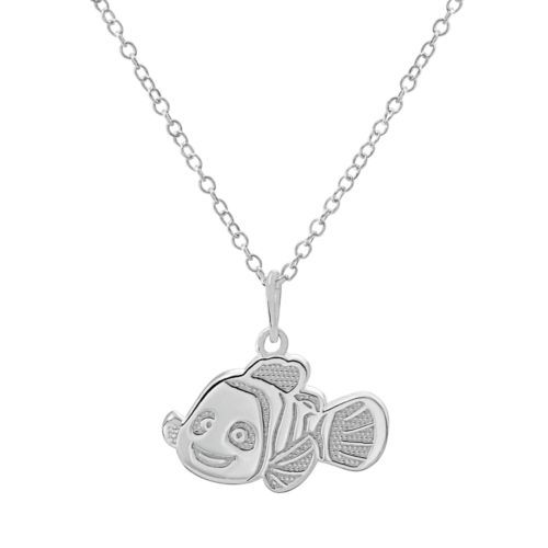 Disney / Pixar Finding Nemo Sterling Silver Pendant Necklace