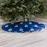 Indianapolis Colts Christmas Tree Skirt