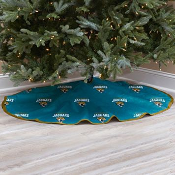Jacksonville Jaguars Christmas Tree Skirt
