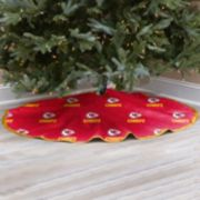Kansas City Chiefs Christmas Tree Skirt