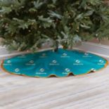 Miami Dolphins Christmas Tree Skirt