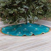 Miami Dolphins Christmas Tree Skirt