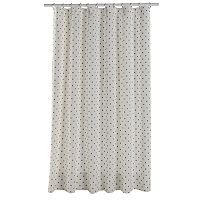 LC Lauren Conrad Metallic Dot Shower Curtain