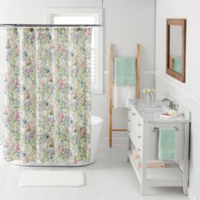 LC Lauren Conrad Wildflower Shower Curtain