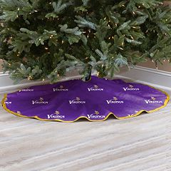 Minnesota Vikings Christmas Tree Skirt