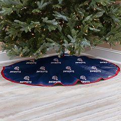 New EnglandPatriots Christmas Tree Skirt