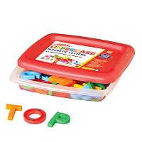 Educational Insights Alphamagnets Multicolored Uppercase Magnetic Letters