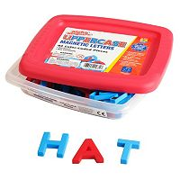 Educational Insights Alphamagnets Color-Coded Uppercase Magnetic Letters 42-piece Set