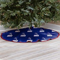 New York Giants Christmas Tree Skirt
