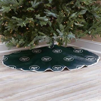 New York Jets Christmas Tree Skirt