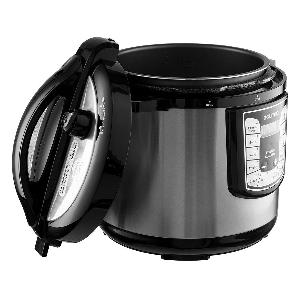 Gourmia 4-qt.13-in-1 Pressure Cooker Plus