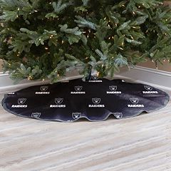 Oakland Raiders Christmas Tree Skirt