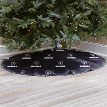 Oakland Raiders Christmas Tree Skirt