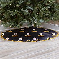 Pittsburgh Steelers Christmas Tree Skirt