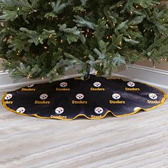 Pittsburgh Steelers Christmas Tree Skirt