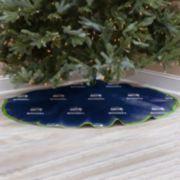 Seattle Seahawks Christmas Tree Skirt