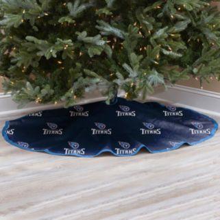 Tennessee Titans Christmas Tree Skirt