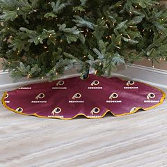 Washington Redskins Christmas Tree Skirt