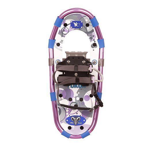 Youth Yukon Charlies Purple Aluminum Snowshoes