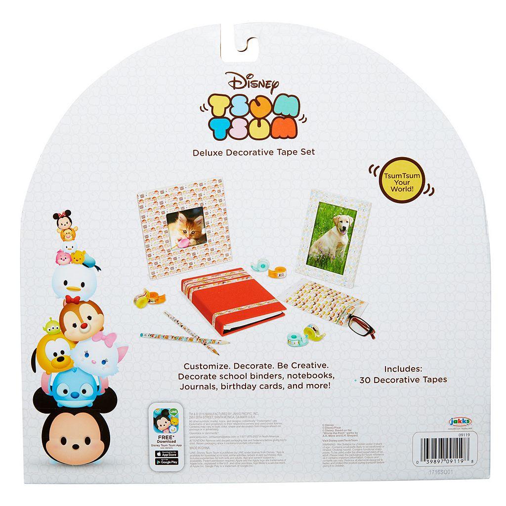 Disney's Tsum Tsum Deluxe Decorative Tape Set